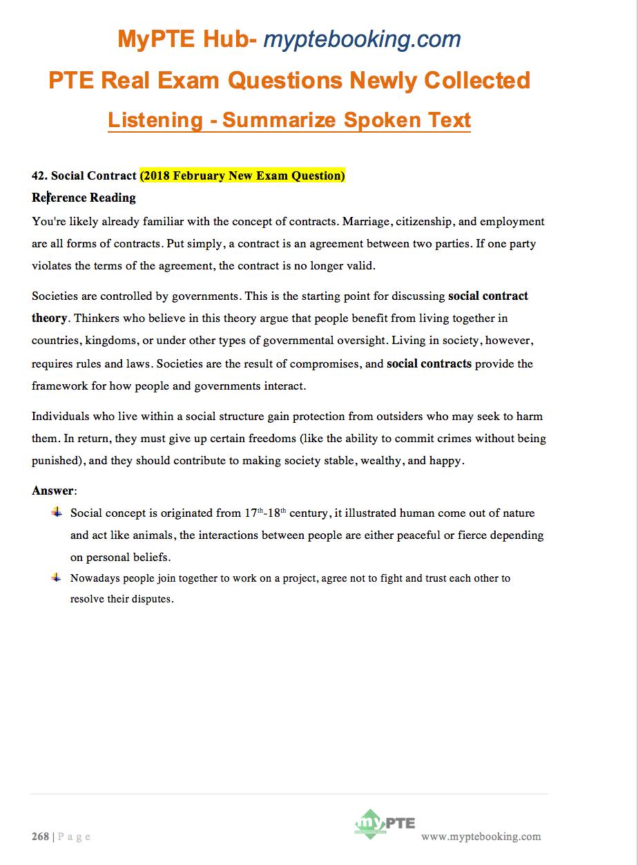 Pte real exam question bank june 2018 update mypte table of content fandeluxe Gallery