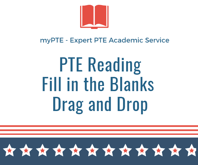 PTE Reading - FIB Drag and Drop strategy | Real exam questions